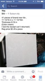 Tile brand new in Vacaville, California