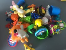 Bag of little toys in Camp Lejeune, North Carolina