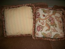 Pillows w/ fringe in Kingwood, Texas