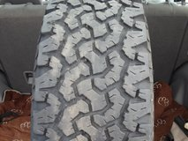 1- Used 235/70R16 BF Goodrich All Terrain T/A LR C Tire 4 Sale in Lockport, Illinois