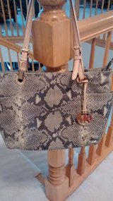 Authentic Michael Kors Python purse in Bartlett, Illinois