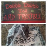 Halloween sign decor in Spring, Texas