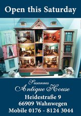 Susannes  Antique - House Open on Saturday 13 of February2016 fom 10.00-18.00 in Spangdahlem, Germany