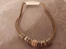 """Brand New 16"""" Goldtone Christopher Banks Necklace in Joliet, Illinois"""