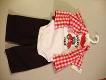 boys  3 pc. oufit( new) 0-3 months in Fort Campbell, Kentucky
