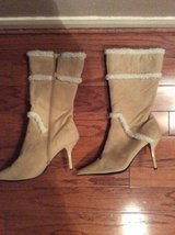*REDUCED **Ladies Tan High Heel Boots*** in The Woodlands, Texas