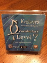 Knowsys Level 7 Vocabulary Flashcards in Houston, Texas