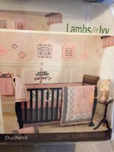 Lambs and ivy duchess crib bedding set in St. Charles, Illinois