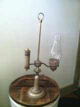 **VINTAGE STYLE METAL LAMP W/GLASS CHIMNEY** in Chicago, Illinois