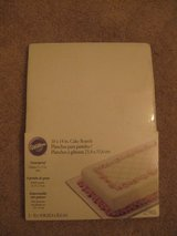 "Wilton 10"" x 14"" Cake Boards 5pk White in Hinesville, Georgia"