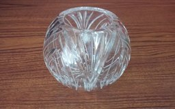 Lead Crystal Candle Bowl in Conroe, Texas