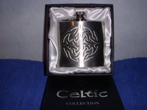 Hip Flask with Celtic Engraving in Baumholder, GE