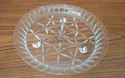 Heavy Glass Round Cake Dish in Conroe, Texas