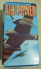 Air Power-Stories of WWII  4 vhs tape set in Plainfield, Illinois