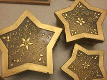 Gold star boxes 3 inside each other in Camp Lejeune, North Carolina
