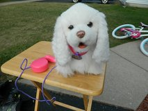 FurReal Friends Go Go My Walkin Pup Walking Puppy White Dog Interactive Toy in Morris, Illinois