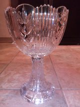 Tall Crystal Vase or bowl in Naperville, Illinois
