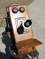 Original Stromberg Carlson Oak Wall Phone in Camp Pendleton, California