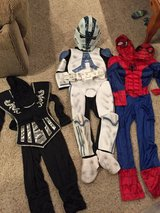Ninja, Spider-Man, and Clone Trooper Costumes in Joliet, Illinois