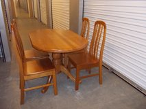 GREAT Dining Set (SOLID WOOD) ---- GREAT Deal !!!! in Camp Pendleton, California
