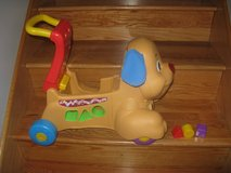 Fisher Price Laugh and Learn Stride to Ride Puppy in Joliet, Illinois