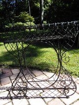 Wrought Iron Plant Stand in Beaufort, South Carolina