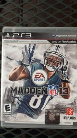 MADDEN 13  PS3 (new) in Baumholder, GE
