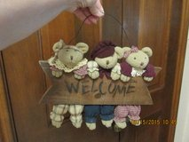 """Welcome"" Sign -- Adorable 3 Bears in Houston, Texas"
