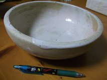 THICK CERAMIC BOWL in Okinawa, Japan