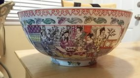 REDUCED-Made in Macau Porcelain bowl in Naperville, Illinois