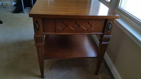 REAL WOOD-BASSETT END TABLE in Fort Campbell, Kentucky