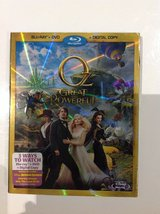 New! Blue-Ray Disney Oz The Great and Powerful in Fort Campbell, Kentucky