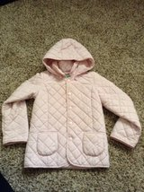 Girls Toddler coat size XS 4-5 light pink in Houston, Texas