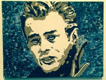 James Dean oil on canvas 40 x 30 Picture Art Film Artist in Ramstein, Germany