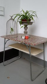 Folding table art deco. Perfect for outdoors. in Wiesbaden, GE