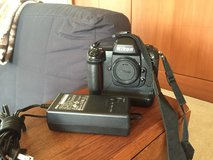 Nikon D1 camera with power cable in Fairfax, Virginia