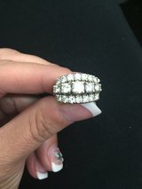 Ladies Three Row Diamond Ring $2900 GREAT DEAL!! in Travis AFB, California