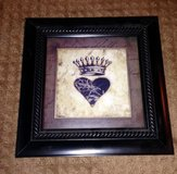 Heart with crown and rhinestones in Fort Carson, Colorado