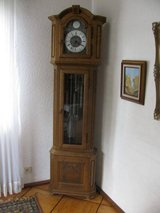 beautiful German grandfather clock -revised & fully functioning in Spangdahlem, Germany