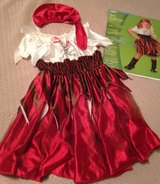 Swashbuckler Pirate Costume 3/4T in Morris, Illinois