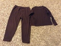 Beverly Hills Polo Club boys PJ's brown size 4T in Houston, Texas