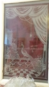 Etched Window French. Perfect Condition in Ramstein, Germany
