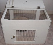 Wooden Temporary Cage for Pet if Visitors Arrive, in Conroe, Texas
