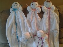 Baby Bed Dolls New Made by Crafter in Oswego, Illinois