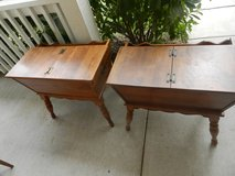 Vintage Ethan Allen end tables in Batavia, Illinois