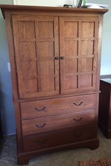 Keller Solid Oak Armoire in Miramar, California