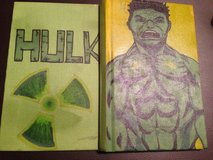 Note book-personalized, hand-painted in Fort Campbell, Kentucky