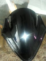 Puig Racing Motorcycle Windscreen~ Fits all Suzuki GSXR Motorcycles in Okinawa, Japan