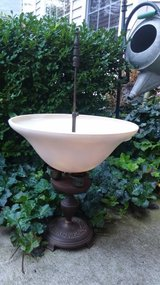 Vintage upcycled lamp into birdfeeder or planter! in Morris, Illinois