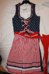 Dirndl size 42 with white blouse in Stuttgart, GE